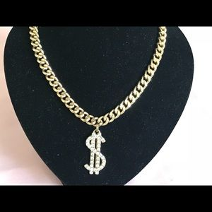 Other - Gold plated Thick & Heavy Cuban Link Money Chain
